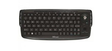 Клавиатура Trust Compact Wireless Entertainment Keyboard (17919)