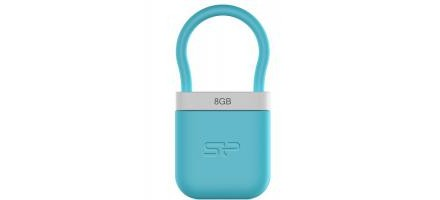 USB флеш накопитель Silicon Power 8Gb Unique 510 blue (SP008GBUF2510V1B)