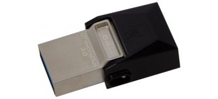 Флеш-память USB Kingston DT microDuo 16GB USB 3.0 (DTDUO3/16GB)