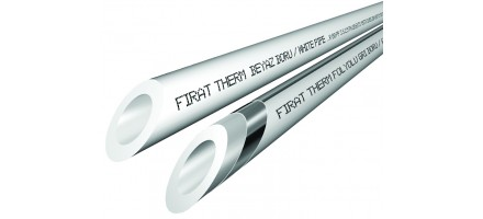 Труба Firat  (стекловолокно) PN25 20х3.4 мм. армированная стекловолокном